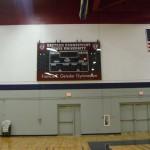 Scoreboard Install at ECSU