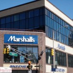 A sign we installed for Marshalls