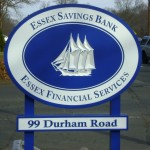 Sign done for Essex Savings Bank