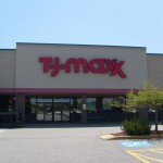 sign for tj-max
